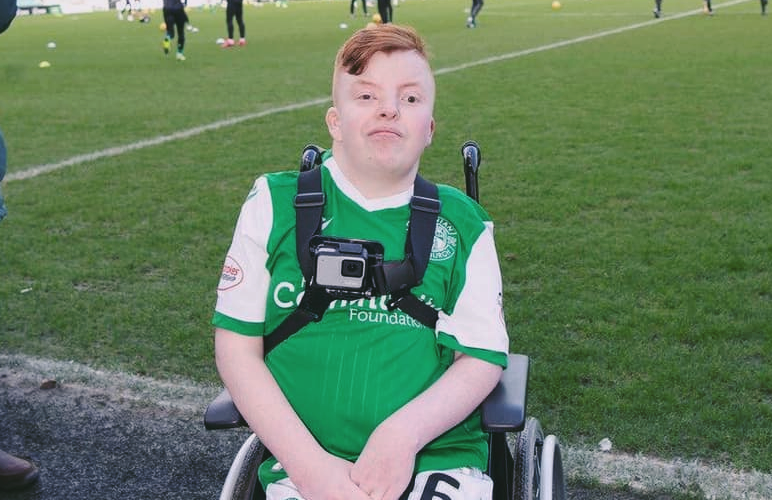 Darren is our Match Day Mascot