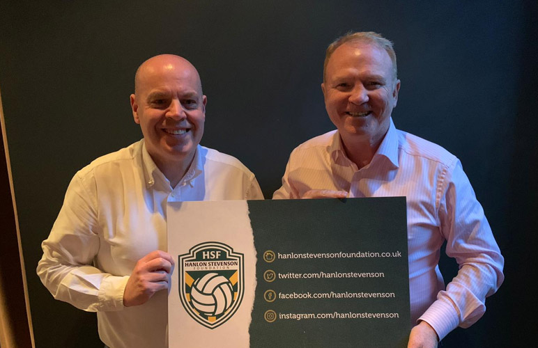 Alex McLeish gives HSF his support